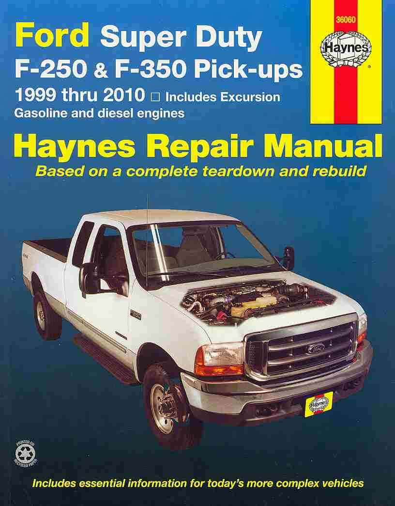 Ford Super Duty Pick-Ups and Excursion Automotive Repair Manual By Warren, Larry/ Haynes, John Harold